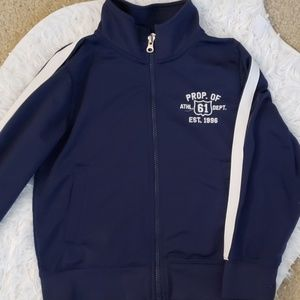 Carters boys size 6 zip up jacket